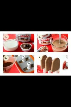 Nutella Ice Lolly!! #Health #Fitness #Trusper #Tip