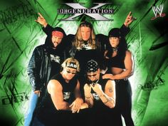 D-Generation X - The original stable of the Attitude Era!