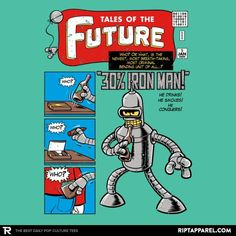 Tales of the Future - Collection Image - RIPT Apparel