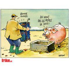 Samson (2015-12-31) Au revoir 2015- Bonne Année 2016 |  Urtikan.net - le journal satirique qui gratte là où ça démange