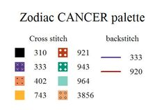 ZODIAC Cancer Palette