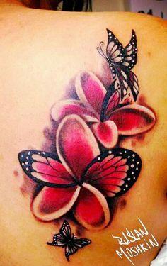 butterfly plumeria - Google Search