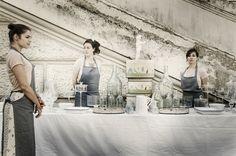 ANGELINA home ... crea spazi di esperienza legati al cibo... style & decor annapaolopresti per  @centralemontemartini-performance. FrancoLosvizzero.  www.ristoranteangelina.com www.angelinashome.com
