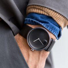 GQ.COM – OCTOBER 5, 2015   Movado US   Movado Edge, the new watch line for Movado.