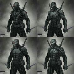 GI Joe: Snake Eyes roughs by Josh Nizzi Arte Ninja, Ninja Kunst, Ninja Armor, Sci Fi Armor, Armadura Ninja, Character Concept, Character Art, Character Inspiration, Snake Eyes Gi Joe