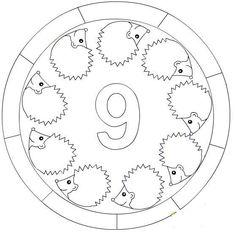 60 Büyüleyici Rakamları Boyayalım Görüntüsü Kindergarten