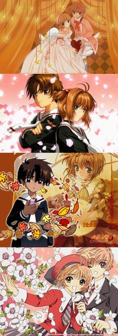 Kinomoto Sakura and Li Shaoran