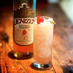 Jet Pilot cocktail recipe made with Denizen Merchant's Reserve.