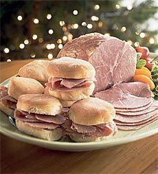 Traditional salt-cured Virginia Ham - there's nothing like it in the world! Christmas Party Menu, Christmas Cocktails, Christmas Recipes, Yummy Snacks, Yummy Treats, Virginia Ham, Easter Dinner, The Cure, Salt