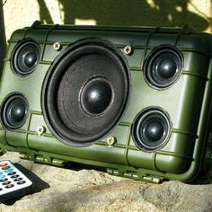 Weekend Project: Make a DIY Heavy Duty Outdoor Bluetooth Speaker