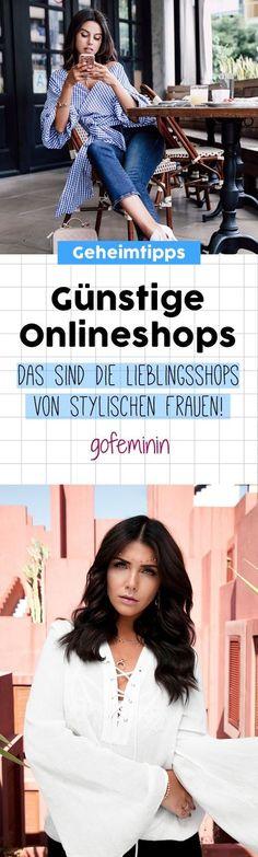 Günstige Onlineshops: Hier shoppen stylische Frauen!