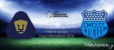 Pumas vs Emelec, Copa Libertadores 2016 ¡En vivo por internet - https://webadictos.com/2016/02/18/pumas-vs-emelec-copa-libertadores-2016/?utm_source=PN&utm_medium=Pinterest&utm_campaign=PN%2Bposts