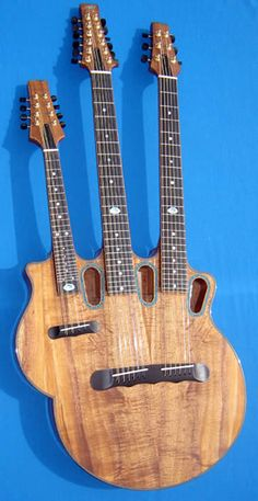 Mermer Guitars, mandolin/12-string/6-string instrument......I'd love to try and play this!!!