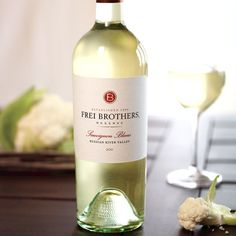 Frei Brothers Reserve Sauvignon Blanc sourced from the Russian River Valley showcases delicious acidity and complex flavors.