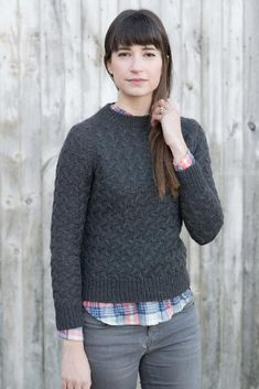 Rocky Coast Cardigan was a hit, part of the collaborative book Coastal Knits…