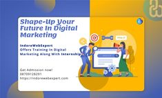 IndoreWebExpert Offers You A Platform To Build A Carrer In Digital Marketing. At The End OF The Job Get An Instant job.  Admission Open Now Phone- +918709128291   #digitalstrategy #digitalagencylife #marketingdigital #growth #contentstrategy #offer #digitalmarketingtraining #seoservices #ppcservice #socailmediamarketing #digitalmarketingagency #smo #india #ranchi #searchengineoptimization
