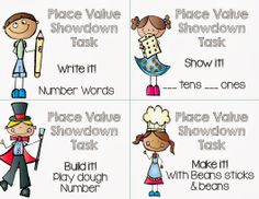 Kagan structure 'Show Down' math activity. Go to the site for a complete explanation. Cooperative Learning Strategies, Teaching Strategies, Siop Strategies, Whole Brain Teaching, Teaching Math, 1st Grade Math, First Grade, Third Grade, Harry Kindergarten