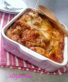 La Torta Margherita: Lasagna verde vegetariana