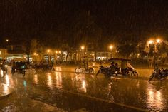 It rains a lot in Iquitos, Peru as you can see from this picture!