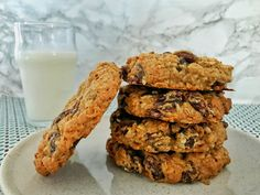Best Ever Bakery-Style Oatmeal Raisin Cookies