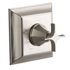 Kohler Memoirs Rite-Temp Pressure-balancing Valve Trim with Stately Design and Cross Handle