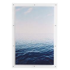 """hallway - $399 - 28""""w x .5""""d x 40""""h Wall Art - Aquamarine"""