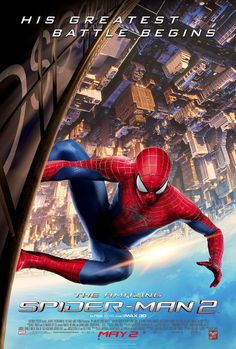 The Amazing Spider-Man 2 posters for sale online. Buy The Amazing Spider-Man 2 movie posters from Movie Poster Shop. We're your movie poster source for new releases and vintage movie posters. Movies 2014, New Movies, Good Movies, Movies Free, Latest Movies, Imdb Movies, Watch Movies, Spider Man 2, 2 Movie