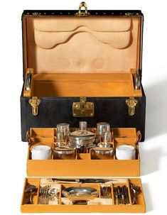 Louis Vuitton Made to Order Tea Trunk - Explore the World with Travel Nerd Nici, one Country at a Time. http://TravelNerdNici.com