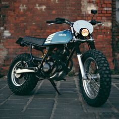 Some motorcycles just scream fun. Before the Honda Grom there was the Yamaha TW200—a low-riding dual-sport bike that can't decide if it belongs on the beach or the farm. With low gearing and big tires, it's also at home on potholed city streets, as Berlin-based Maximilian Funk has found.