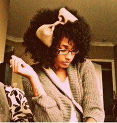 Hair accessory ideas for natural hair