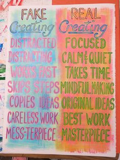 In the Art Room: Creating (Cassie Stephens) In the Art Room: Creating The post In the Art Room: Creating (Cassie Stephens) appeared first on Belle Ouellette. Art Classroom Posters, Art Classroom Decor, Art Room Posters, Art Classroom Management, Classroom Walls, Classroom Organization, Classroom Ideas, Elementary Art Rooms, Art Lessons Elementary