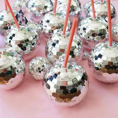 Your favorite beverage just went from bleh to party with Packed Party's creation of the first-ever disco drink™. Order your disco ball cup today! Disco Theme Parties, Disco Party Decorations, Disco Birthday Party, Birthday Party Themes, Kids Disco Party, Sofia Party, Birthday Brunch, 22nd Birthday, Retro Party