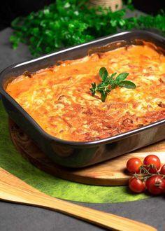 Das Gyros in Metaxa-Sauce ist Low Carb und glutenfrei.