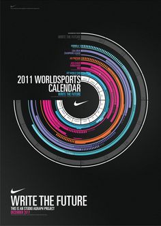 Write the Future - Calendar on Behance