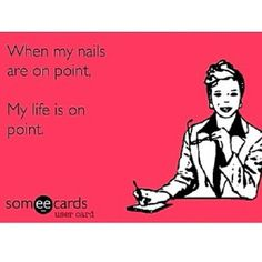True words ! My nails must be on point or I'm completely distracted www.eyecandycouture.com