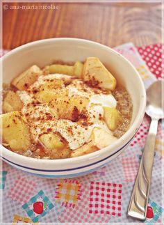 Quinoa, Baked Apples, Hummus, Deserts, Sweets, Healthy Recipes, Breakfast, Ethnic Recipes, Html