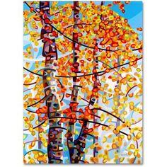 Trademark Fine Art Panoply Canvas Art by Mandy Budan, Size: 14 x 19, Multicolor