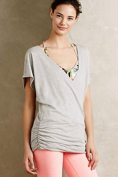 Draped French Terry Top - anthropologie.com
