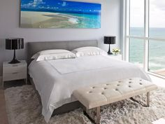 Contemporary Bedrooms from Benjamin Cruz on HGTV