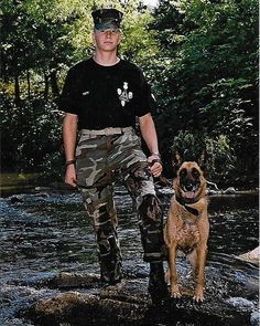 Service Dogs Are Being Trained For The Most Amazing Reason Military Working Dogs, Military Men, Train Service, Service Dogs, Shelter Dogs, Rescue Dogs, Parris Island, Camp Lejeune, Master Sergeant