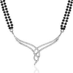 Buy Modish Diamond Mangalsutra for Rs. 47300