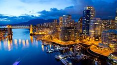 Vancouver, une des plus belles baies du monde, est régulièrement saluée pour son dynamisme, sa qualité de vie et l'agrément de son environnement.