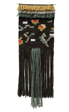 Garden Tapestry - Wall hanging, tapestry, woven wall art, weaving