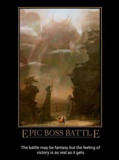 I love boss battles!