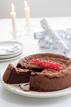 Cacaofudgecake zonder bloem - recept