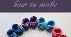 Creazioni del Centro: How to make mini booties : crochet pattern