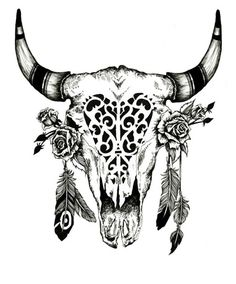 antlers boho...i dig it ♥ itt'd match my big ass skull head dress one im rockin on my left shouldah! :D