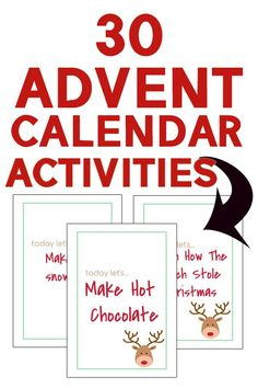 Free printable advent calendar filler idea cards and stuffers. Advent Calendars are a fun Christmas tradition and a great tradition to start this year. Advent Calendar Fillers, Advent Calendar Activities, Advent Calendars, Traditions To Start, New Years Traditions, Christmas Traditions, How To Make Snow, Christmas Fun, Free Printables