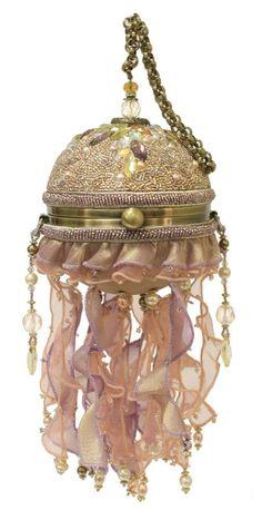 mary frances handbags | Mary Frances Bags Resort 2014 Jelly Dance Ocean Bag Sea Bead Purse ...