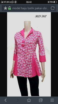 Batik Dress Sewing Patterns, Blouse Patterns, Blouse Designs, Blouse Batik, Batik Dress, African Wear, African Fashion, Batik Fashion, Fashion Outfits